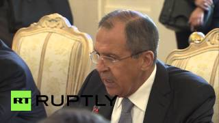 Russia: Lavrov meets Luxembourg's FM Asselborn to discuss bilateral relations