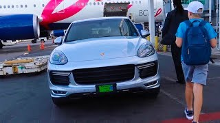 What airline gives you a PORSCHE? thumbnail