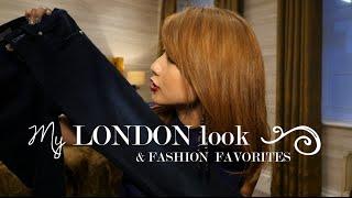 私のロンドンファッション♪ My London look & Fashion Favorites〔#382〕