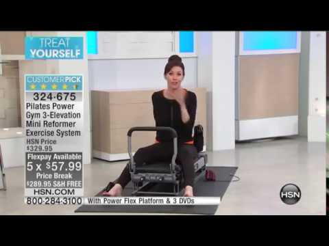 Pilates Power Gym 3Elevation Exercise System