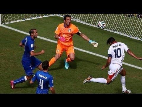 Costa Rica vs Italy 2014 FIFA World Cup Results