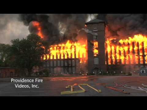 Massive Inferno Destroys Mill Complex In Woonsocket Ri