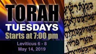 Tuesday Night Torah Class with Jerry: Leviticus 6 - 8