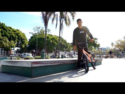 BMX - FLAT LEDGE GRIND CHALLENGE WITH ANDY GARCIA