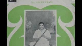 "Namagiripettai Krishnan-Nadhaswaram ""Bhavayami (Ragamalika)"""
