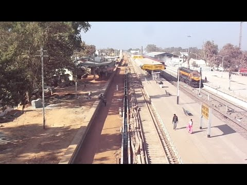 Construction Of Platforms, Laying Tracks And Other Works At Balaghat Junction