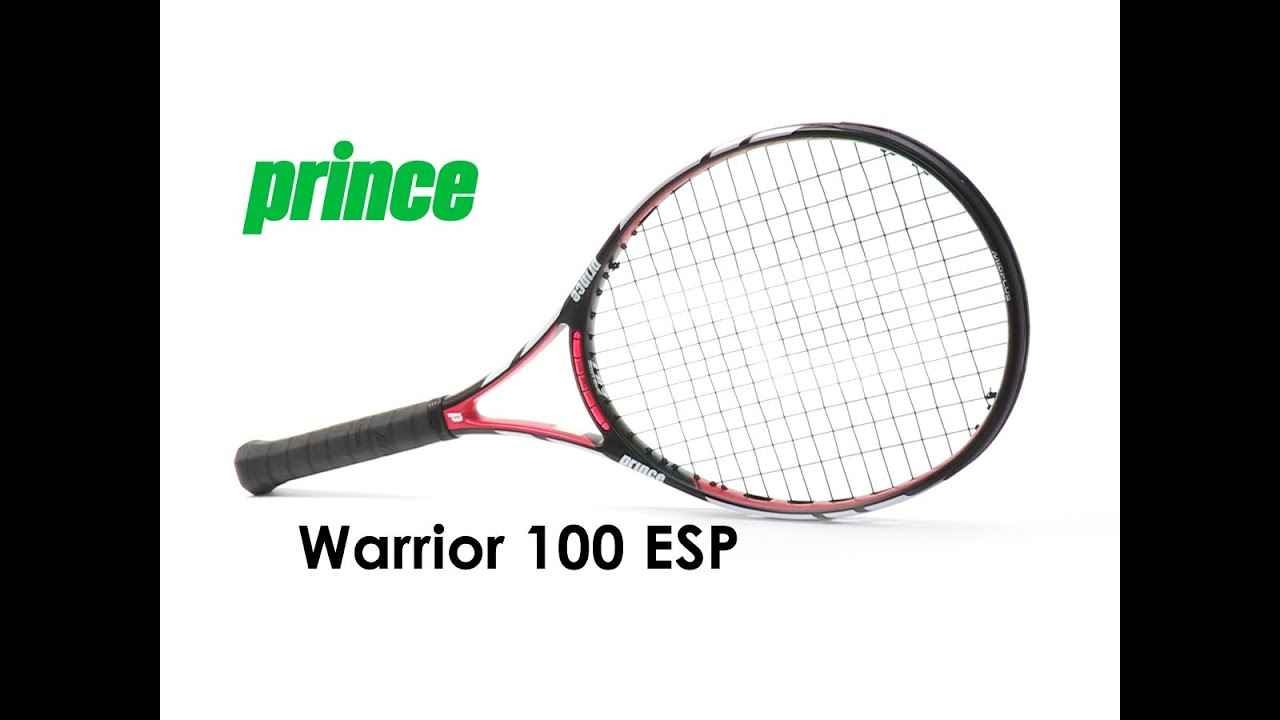 prince warrior 100 esp racquet review youtube. Black Bedroom Furniture Sets. Home Design Ideas
