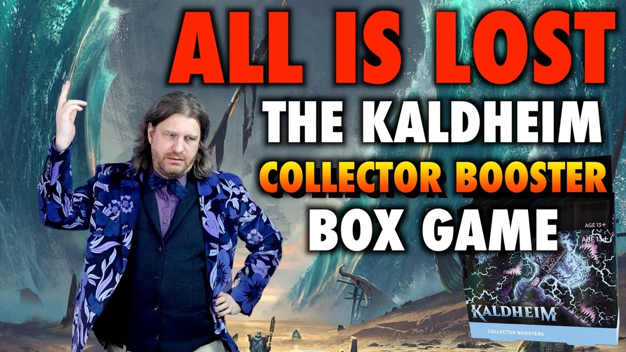 """All Is Lost, So Let's Play Kaldheim Collector Booster Box Games! """"Premium"""" Magic The Gathering Packs"""