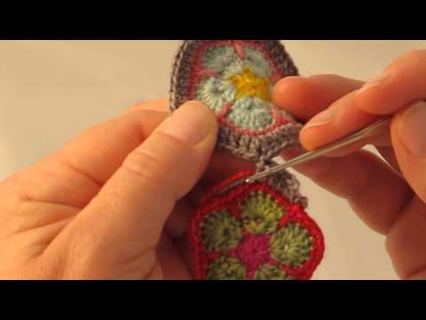 Crochet Join-as-you-go