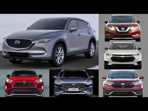 Top 10 Compact SUVs To Buy Under 27K (2020 -2021) Toyota Rav4, Nissan Rogue, Honda Crv, Ford Escape.
