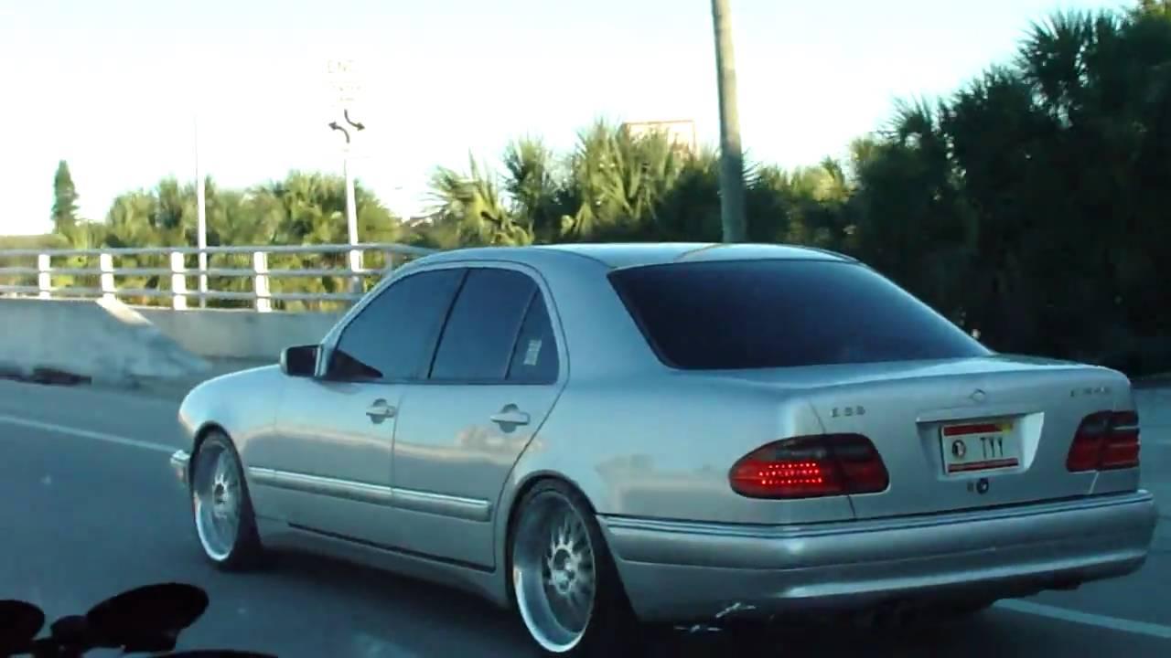 1997 E420 E55  1 Driving
