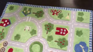 Kids Road Rug by Pottery Barn