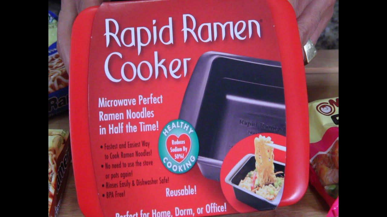 Rapid Ramen Cooker As Seen On Tv Youtube