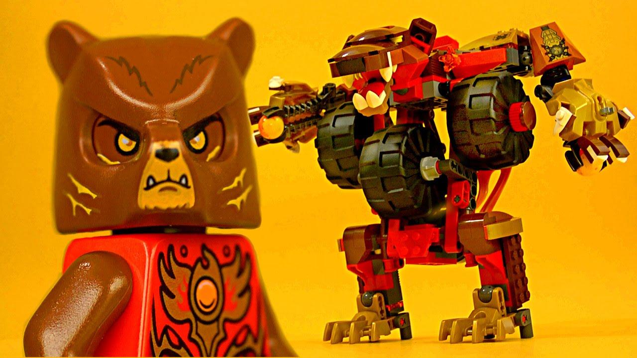 LEGO Chima 70225 Bladvic's Rumble Bear - YouTube