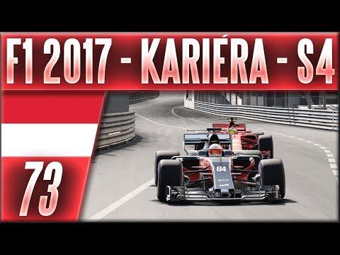 F1 2017 - Kariéra - S4 | #73 | Česká Bitva v Monaku (MON) | CZ Let's Play