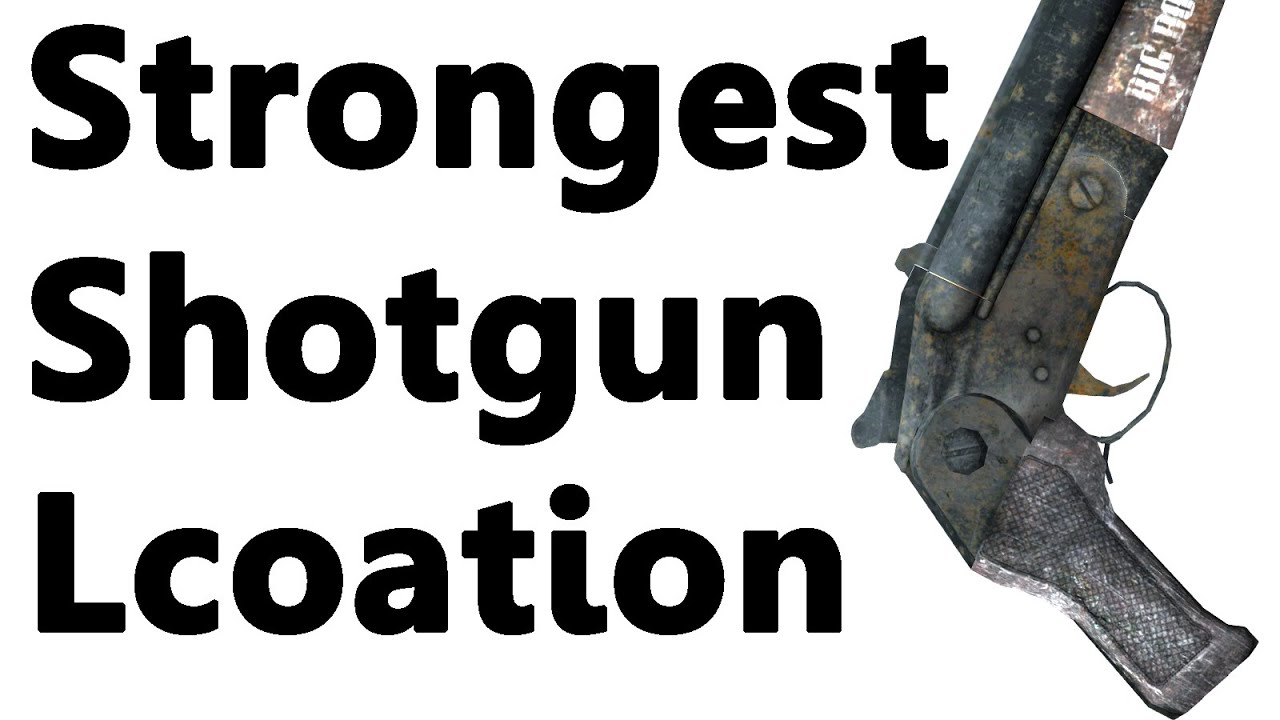 Fallout New Vegas Strongest Shotgun Big Boomer Location Rare