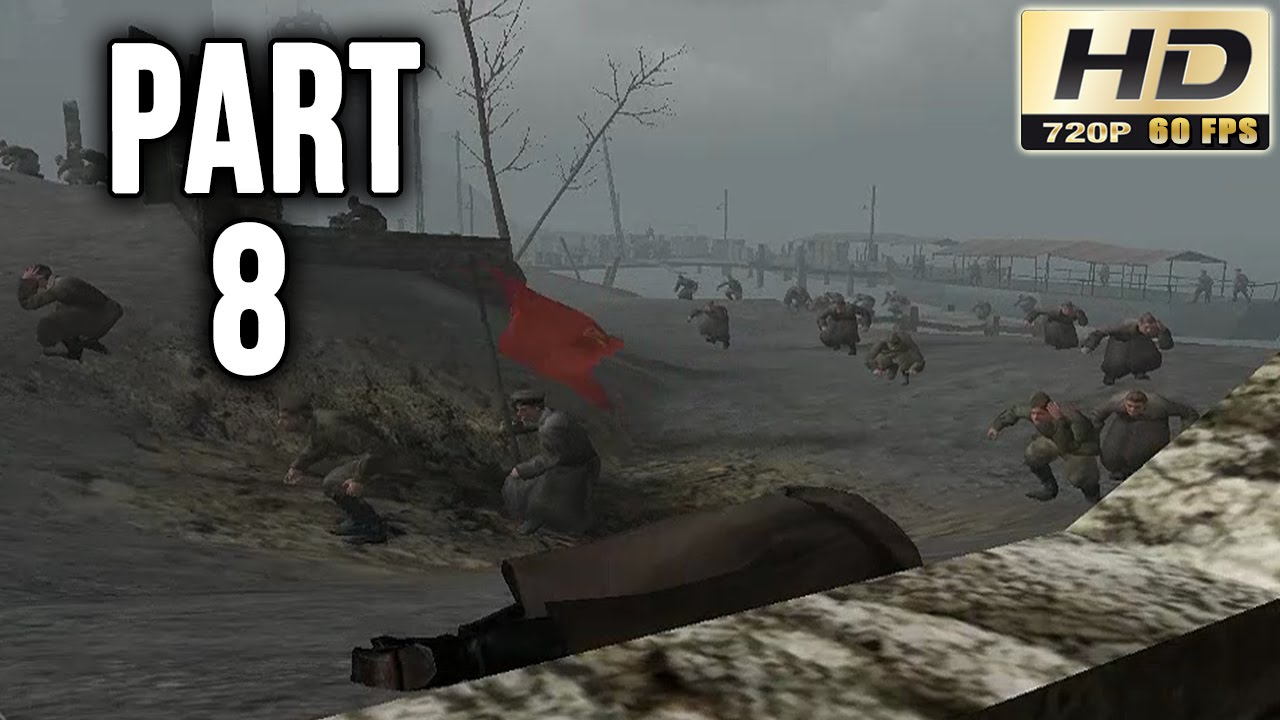 Call of Duty Classic Walkthrough: Part 8 - Stalingrad & Red Square! - PC  Gameplay Playthrough 60fps