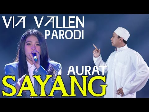 Via Vallen - Sayang PARODI - Indonesian Choice Awards 5.0 NET