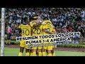 Resumen: Todos los goles Pumas 1-4 Club América   4tos Liguilla   CL18