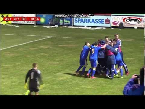 Austria U17 - Bosnia and Herzegovina U17 0:2 (Ajdin Hasic EUROGOAL from 60m)