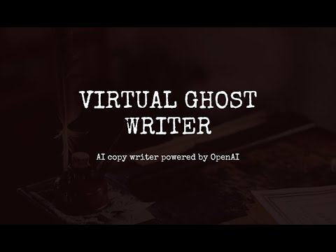 Virtual Ghost Writer #0