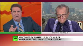 Larry King slams MSNBC for not questioning more