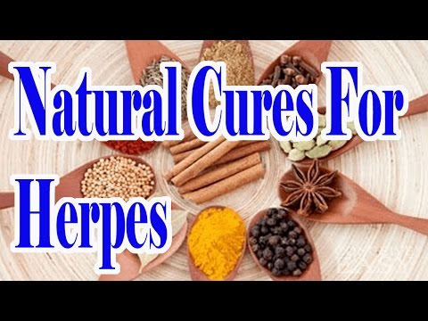 Natural Cures For Herpes : Treatment For Herpes