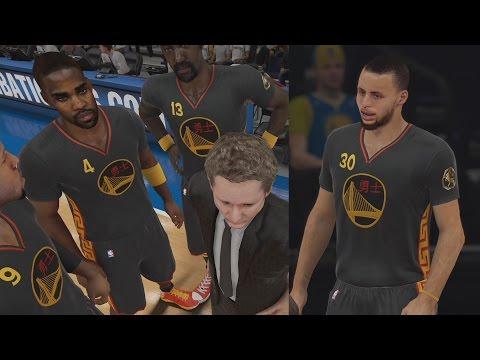 NBA 2K15 PS4 My Team - All Time Warriors! Splash City!