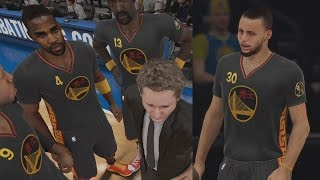 NBA 2K15 PS4 My Team - All Time Warriors! Splash City!
