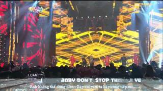 BBVNKara+Vietsub One Of a Kind, Crayon + Fantastic Baby SBS Gayo Daejun 2012   BIG BANG