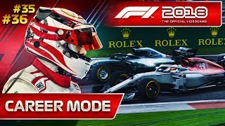 F1 2018 Career Mode Part 35: Can Sauber Be Stopped?