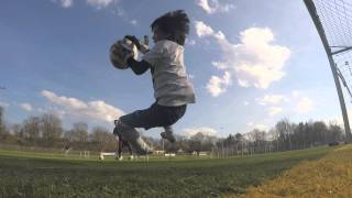 Download lagu Seven Year Old Goalkeeper Bobby Training April 2015 Amazing Saves MP3