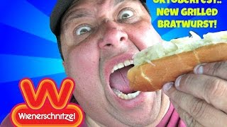 Wienerschnitzel's® New Grilled Bratwurst REVIEW!