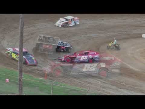 8 4 18 Modified Heat #3 Lincoln Park Speedway