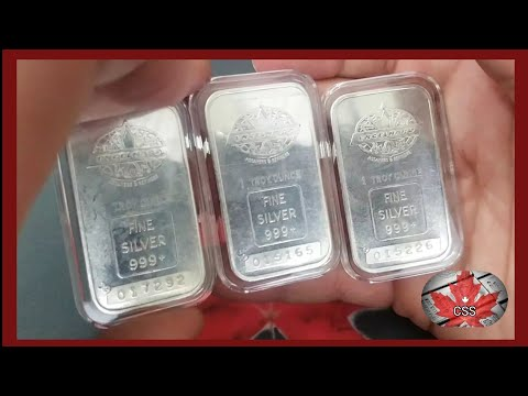 This weeks Silver Hunt Sunday I have some Engelhard silver bars & feature a TD bank 1 oz bar