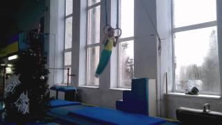 Спортивная гимнастика(Ященко Денис 1юн  р 6 лет) тренер Ягодин С.,Черкассы