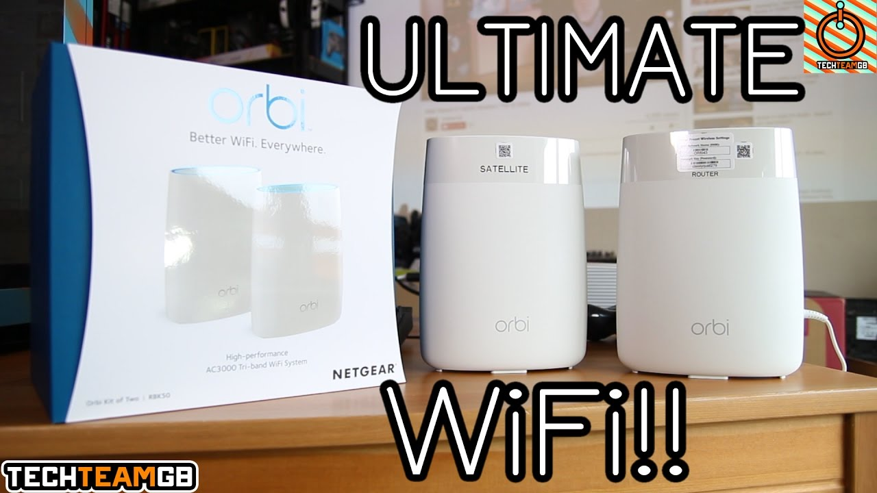 Ultimate WiFi Setup!! | Netgear Orbi Review