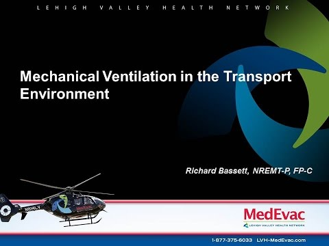 Mechanical Ventilation in the Transport Environment