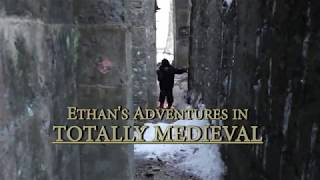 5-Year-Old Ethan's Adventure in the Ruined Castle - Totally Medieval