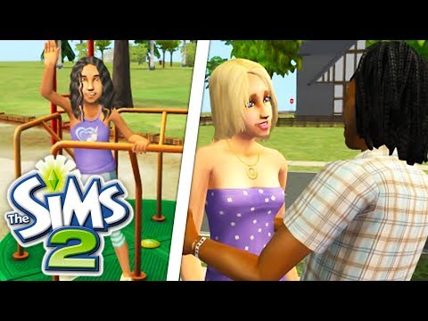 PLAYING THE SIMS 2 FOR THE FIRST TIME IN 3 YEARS! THIS GAME IS SO DETAILED😍