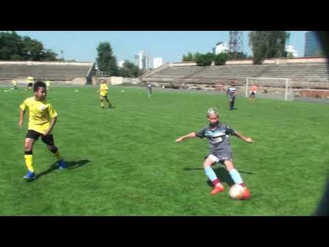 2 тайм ФК Атлет U11 Киев - ФК Гатне U11 Киев (7+1) 20.08.2019