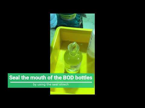 BOD Test Experiment