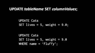 Relational Databases (part 4 of 6)