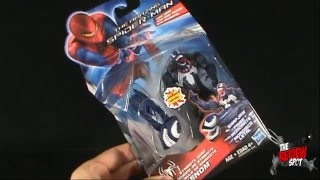 Toy Spot - Hasbro The Amazing Spider-man Comic Series Symbiote Snap Venom
