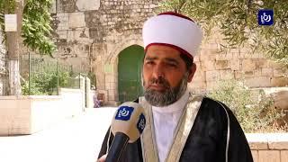 24/5/2020-فلسطين   المقدسيون يقيمون صلاة العيد في المسجد الأقصى رغم قرار الإغلاق بسبب كورونا