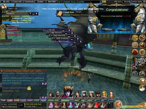 Atlantica Online Valofe Up To Level 170 Youtube
