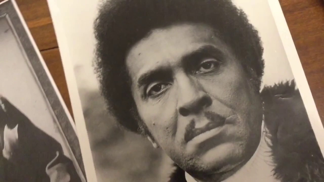 Ultra Rare Iceberg Slim Collectibles Autographed Pimp Press Photos