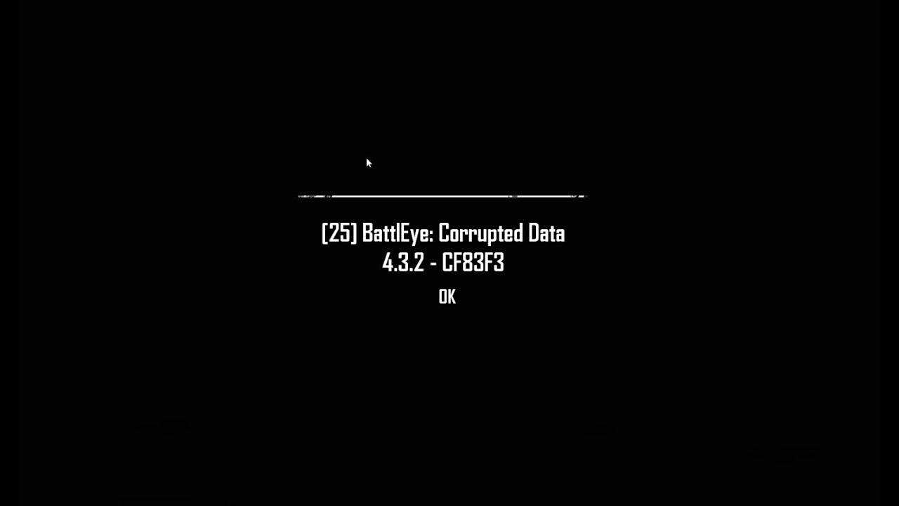 BLACK CORRUPT DATA in PUBG!