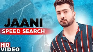 Jaani   Answers The Most Search Speed Questions   Season 2   Speed Records
