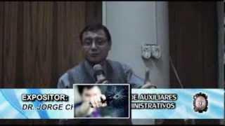 Lucha Contra el Crimen Organizado - Dr. Jorge Wayner Chávez Cotrina